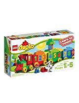 Lego Duplo Number Train, Multi Color