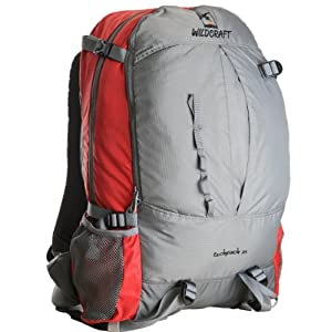 Wildcraft Techpack Hiking Backpacks-Red