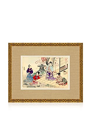 1898 Toyokuni, Asian Woodblock Print III