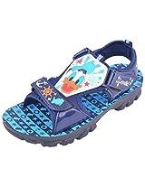 Disney Boy's GDSD Navy Blue Sandals and Floaters - 2 UK