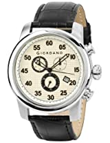 Giordano Chronograph White Dial Men's Watch 1574-02