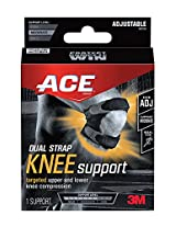 Ace Dual Strap Knee Support, Adjustable