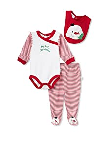 "Rumble Tumble ""My 1st Christmas"" 3-Piece Set (Red)"