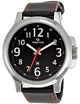 Maxima Analog Black Dial Men's Watch - 24034LMGI
