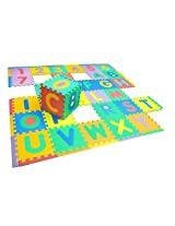 Smartots Deluxe Alphabet and Number Mat, 6' x 6' by Smartots