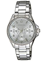 Giordano Analog Silver Dial Women's Watch - 2720-11