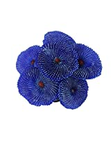 Imported Artificial Coral Plant Fake Soft Ornament Decor For Aquarium Fish Tank Blue