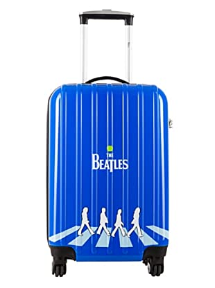 Les Beatles by Platinium Trolley 4 Ruedas Abbey Road (Azul)