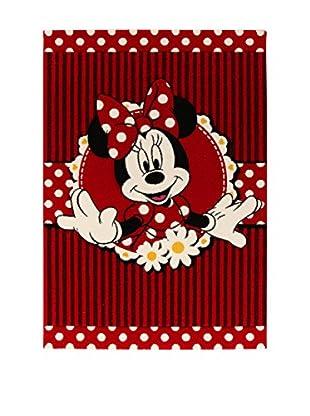 Disney Teppich Disney Premium Minnie004 rot/schwarz/weiß 100 x 150 cm