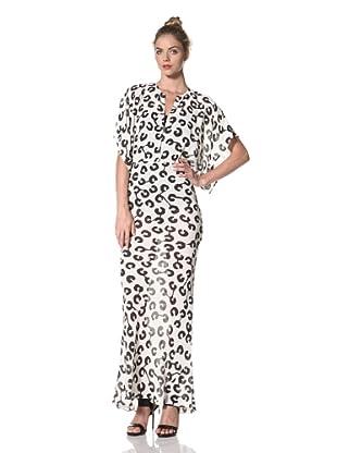 Norma Kamali Women's Obie Gown (Milk Panic)