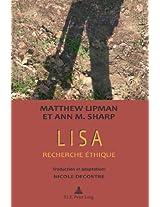 Lisa: Recherche Ethique Preface: Marcel Voisin Traduction Et Adaptation: Nicole Decostre