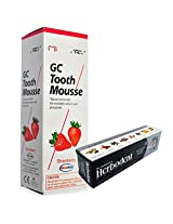 GC Tooth Mousse 40g with Herbodent Herbal Toothpaste Worth Rs.54 Free (Tutti-Fruity)