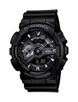 G-Shock Analog-Digital Black Dial Men's Watch - GA-110-1BDR (G317)