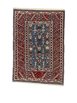 L'Eden del Tappeto Teppich Shirvan Veg.Le mehrfarbig 180t x t128 cm