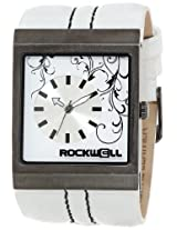 Rockwell Rockwell Time Unisex Mc106 Mercedes White Leather And White Watch - Mc106