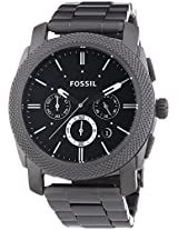 Fossil Machine Chronograph Black Dial Men's Watch - Fs4662