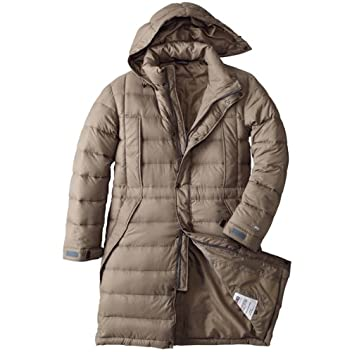 Down Stadium Coat 679001: Stone