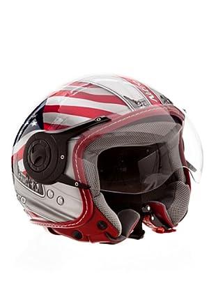 Nitro Casco x548 Usa (Rosso/Blu/Bianco)