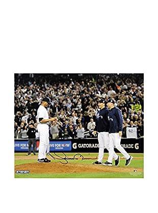 Steiner Sports Memorabilia Mariano Rivera With Pettitte & Jeter Signed Photo, 8