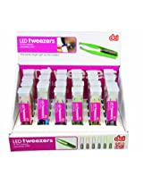 DCI Bright Led Tweezers, Assorted Colors