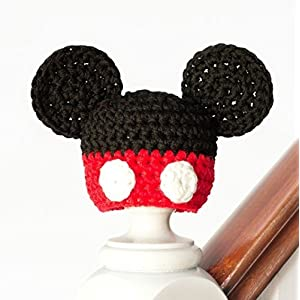 HighKnit Mickey Mouse Hat