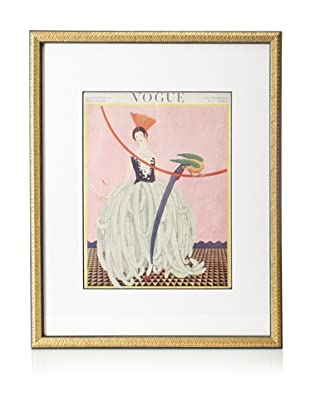 Original Vogue Cover from 1922 by George Plank