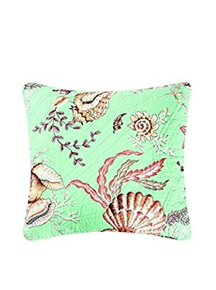 Under The Sea Quilted Pillow, Blue Multi