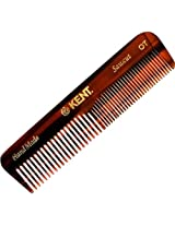 Kent Hand Made 113mm Coarse/Fine Pocket Comb Ot 3 Pack