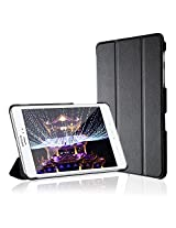Galaxy Tab A 8 Case, JETechÃ'® Gold Slim-Fit Smart Case Cover for Samsung Galaxy Tab A 8.0 inch Tablet with Auto Sleep/Wake Feature (Black)