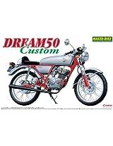 1/12 Honda Dream 50 Custom (Model Car) Aoshima Naked Bike|No.37 By Aoshima