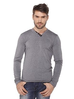 Santa Barbara Camiseta SBO Casual Look (Gris Jaspeado)