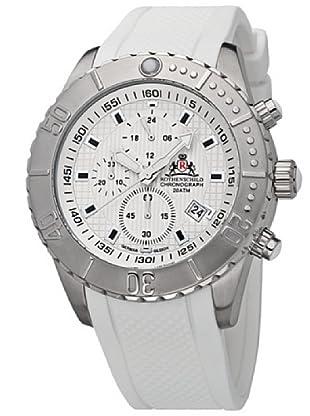 Rothenschild Armbanduhr Silikon/Weiss/Silber