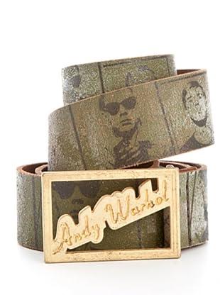 Andy Warhol by Pepe Jeans Cinturón Stamp (Caqui)