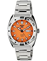 Seiko 5 Sports Analog Orange Dial Men's Watch - SRP283K1