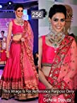 Indian Bollywood Actress Genelia D'souza Replica Party Wear & Wedding Wear Gorgeous Lahenga Choli