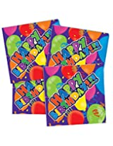 Lot Of 250 Happy Birthday Design Beverage Bar Drink Party Paper Napkins - 7