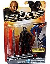 G.I. Joe Retaliation Action Figure Cobra Commander Black Outfit 3.75 Inch