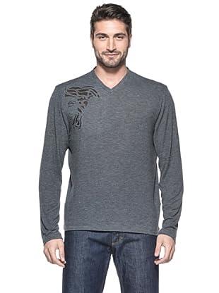 Versace Collection Camiseta Lako (Gris Oscuro)