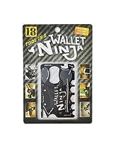 Gadget Hero'sTM Wallet Ninja 18-in-1 Survival Tool Kit Multifunction Useful & Credit Card Style