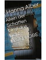 Allein der Schatten birgt das Licht - LESEPROBE (Kommissar-Pfeifer-Reihe 4) (German Edition)