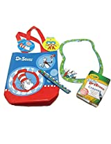 Dr. Seuss Drawing Bundle, 5 Items: One Cat in the Hat Bag, One Cat in the Hat Dry Erase Board, One P