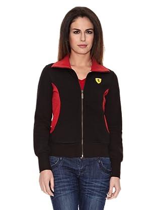 Ferrari Sudadera Zip (Negro)