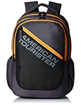 American Tourister Black Casual Backpack (66W (0) 94 003)