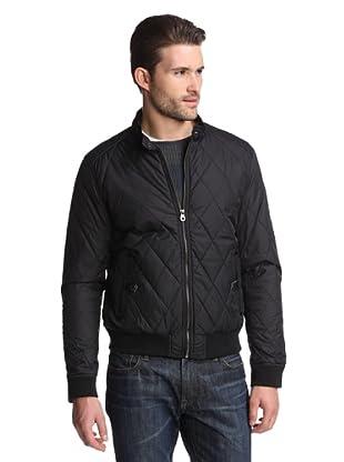 Color Siete Men's Bomber Jacket (Black)