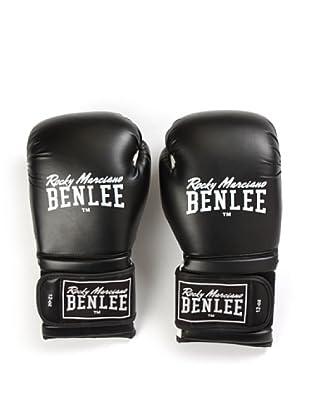 Benlee Guantes Boxeo Madison Deluxe (Negro / Blanco)