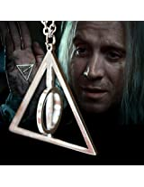 Accessorisingg Harry Potter Deathly Hallows Pendant and Chain for Girls