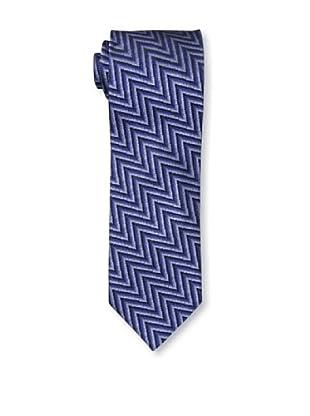 Missoni Men's Zig Zag Tie, Blue
