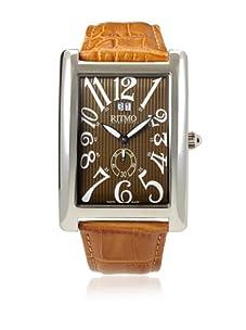 Ritmo Mundo Men's Gran Data Tan/Tiger Eye Stainless Steel Watch