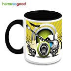 HomeSoGood A Musical Takeoff Coffee Mug