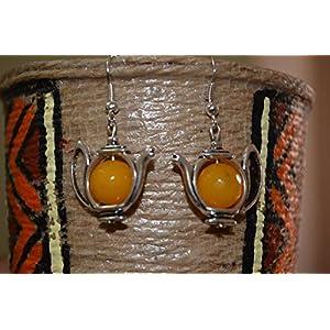 Boho Me Teapot Earrings